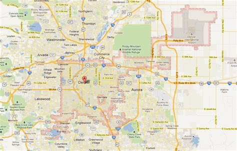 map of denver colorado city of denver map swimnova