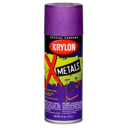 walmart spray paint colors krylon x metals spray paint anodized purple walmart