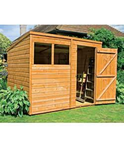 Garden Shed 8x6 Best Price by Wooden Shed 8x6 Ft Garden Shed Review Compare Prices