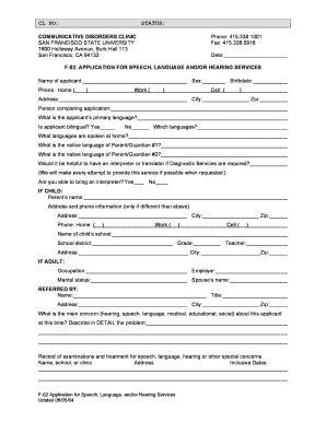 san application san francisco application fill online printable