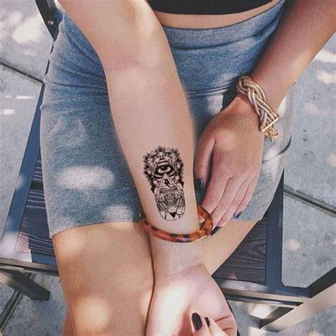 evil eye temporary tattoo tribal wrist temporary tattoo