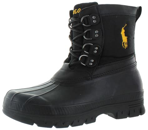polo ralph crestwick s snow duck boots waterproof