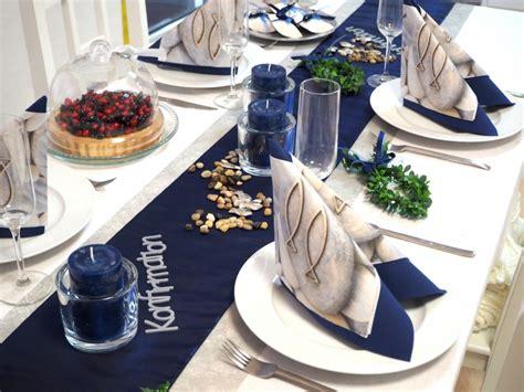 Tischdeko Hochzeit Blau by Tischdeko Kommunion Konfirmation Blau Set 20 Personen