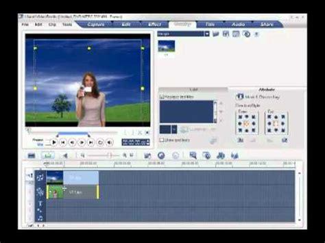 tutorial ulead video studio 10 chang background colors frames in ulead videostudio 10 in