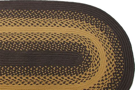 brown braided rug hudson valley brown new gold braided rug