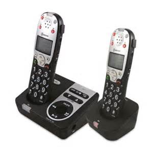 walmart home phones with answering machine licom pt720 2 lified dect cordless phone with