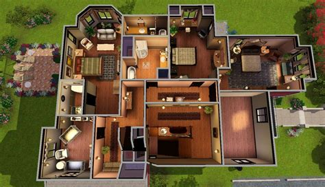 charmed house floor plan 1329 prescott street the home of the legendary charmed ones sim 4 house ideas
