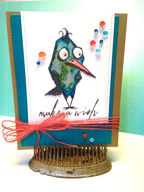 tim holtz bird crazy cards a place for me scraplog