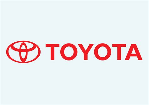 logo toyota vector free toyota company logo in vector format motor corporation or