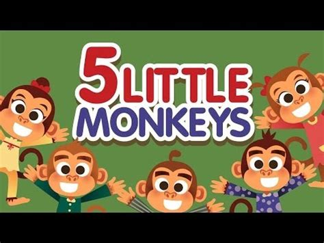 the bed song lyrics five little monkeys jumping on the bed song vidoemo emotional video unity