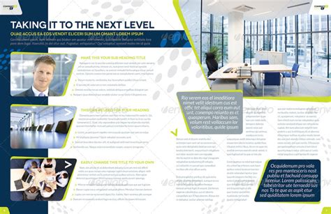 page layout with indesign brochure template indesign 8 page layout 03 by