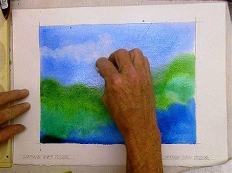 watercolor tutorial basic watercolor technique to lift erase remove wet paint