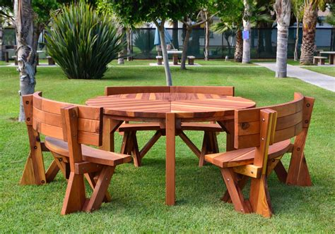 Retro Patio Table Retro Outdoor Patio Table 1950s Style Wood Table Chairs