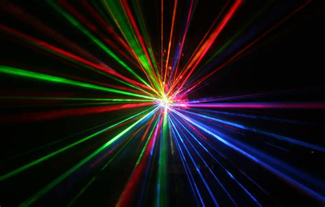 Light Laser by Laser Show Concert Lights Color Abstraction Psychedelic