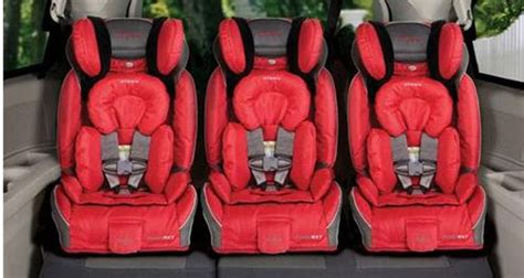 Toyota Highlander Three Car Seats Vehicles That Fit Three Car Seats In One Row