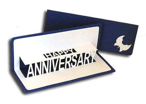 Personalised Anniversary Pop Up Card By Ruth Springer