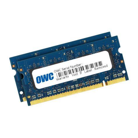Ram Ddr2 6gb owc other world computing 6gb ddr2 800 mhz owc6400ddr2s6gp b h