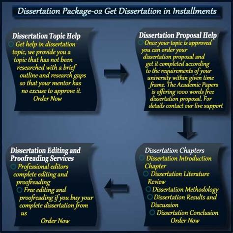 it dissertation ideas writing your phd thesis