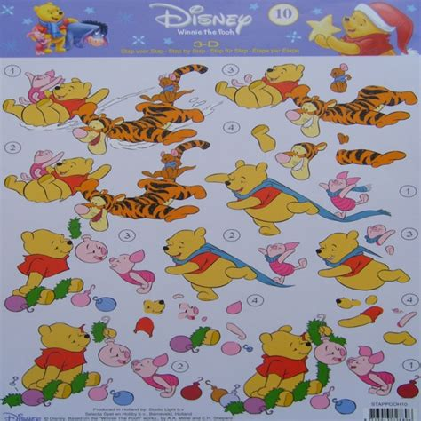 Disney Decoupage - disney winnie the pooh 3d decoupage