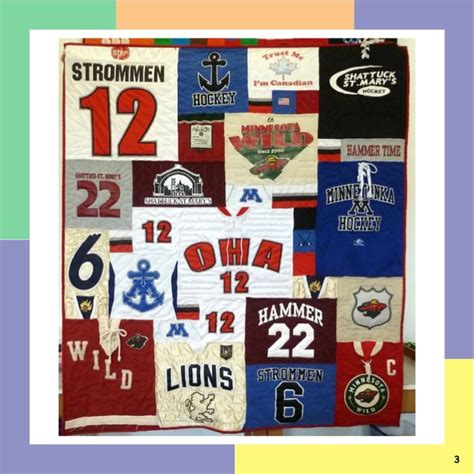 Andrea Funk Quilts by Awesome Cool T Shirt Quilt Photos