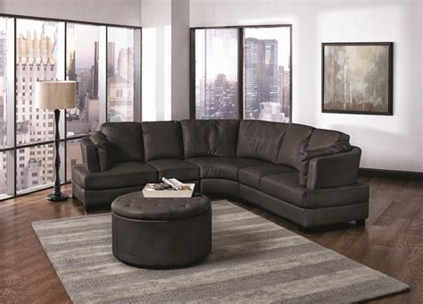 Curved Sectional Recliner Sofas Curved Sectional Sofa With Recliner Cleanupflorida