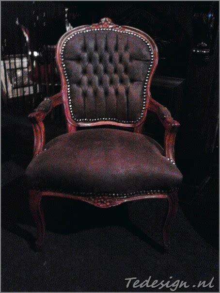 barok stoelen bruin bruine barok stoel
