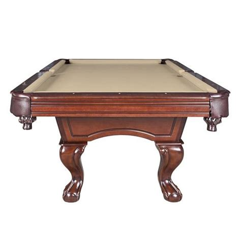 slate pool vs non slate augusta 8 ft non slate pool walnut finish pc pools