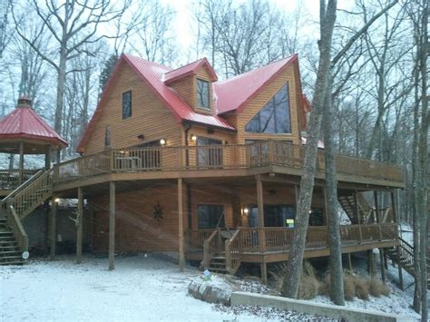 mammoth cabin rentals luxury lakehouse at mammoth cave vrbo