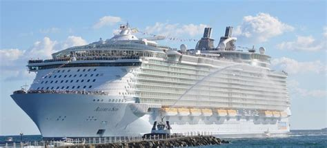 what is the biggest cruise ship in the world will the biggest cruise ship ever built change cruising