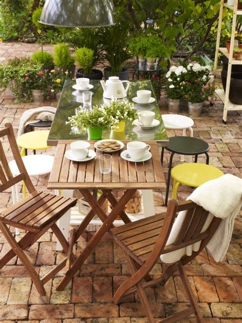 ikea outdoor dining 49 best baharla yenilenin images on pinterest outdoor