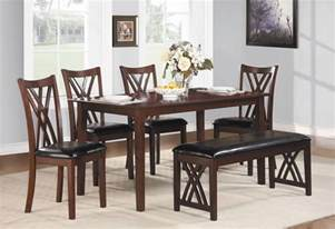 Dining Room Table Set With Bench 26 Big Small Dining Room Sets With Bench Seating