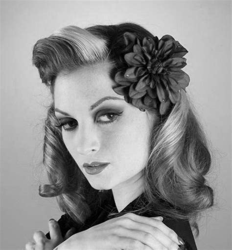 Pictures Of Hairstyles by 1940s Hairstyles For Hair Evesteps