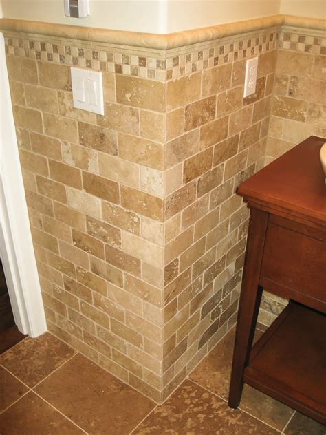 bathroom tile wainscoting bathroom wainscoting gallery tile contractor irc tiles