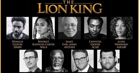 beyonce confirmed for disney s lion king full cast