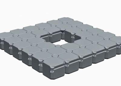 pontoon components floats components for floating platform modular pontoons