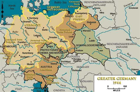 map of germany 1944 greater germany 1944