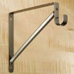 heavy duty closet rods and brackets ideas advices for