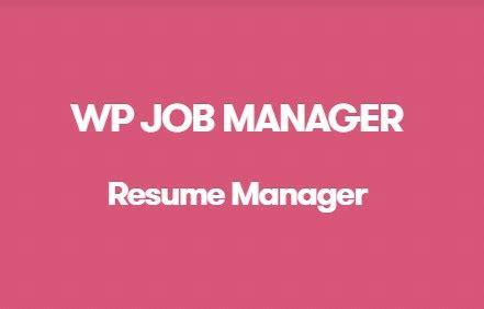 wp manager resume manager addon v1 16 0 gplzone