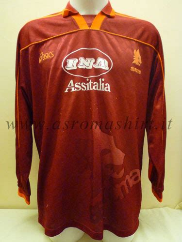 Kaost Shirt As Roma Il Lupo stagione 1995 1996