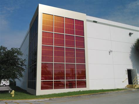 bipv curtain wall konarka runs solar curtain wall pilot greentech media