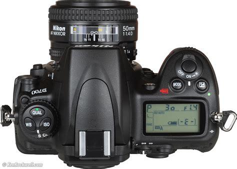 Nikon D700 nikon d700 top panel