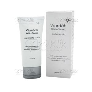 Harga Wardah Scrub jual beli wardah white secret exfoliating scrub 40 ml
