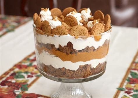 holiday pumpkin gingerbread trifle a simple holiday dessert recipe for christmas and more