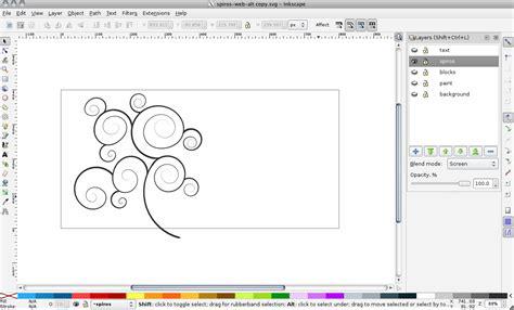 inkscape engraving tutorial using spiro splines in inkscape tucson labs