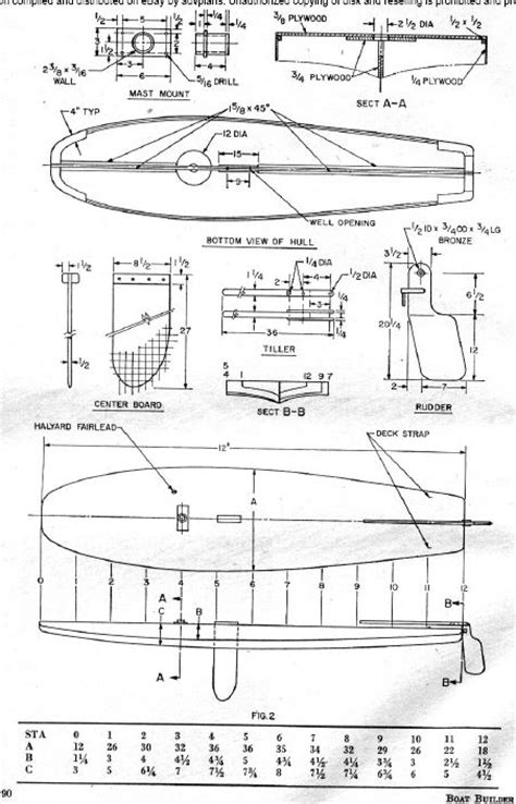 Old Fishing Boat Plans Gause Boat