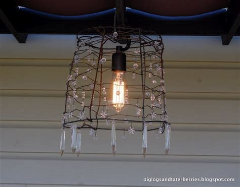 Tomato Cage Chandelier 8 Best Tomato Cage Crafts Images On Pinterest Crafts Chandeliers And Ideas