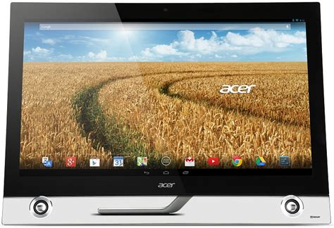 android monitor acer s new 27 quot all in one is a high def monitor and an android pc techspot