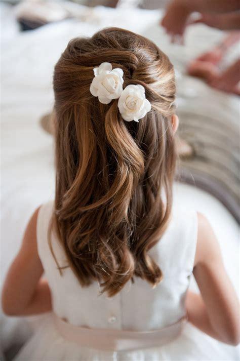 peinados de ninas para flower girls acconciature bambina per damigella e prima comunione