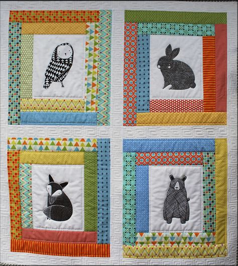 Kookaburra Cottage Quilts by Forest Friends Kit Kookaburra Cottage Quilts