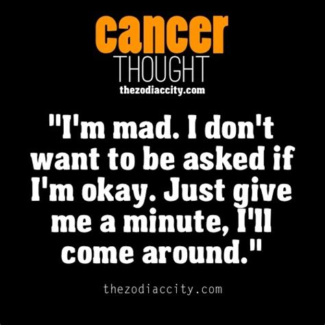 Cancer Zodiac Memes - anger quotes cancer zodiac quotesgram